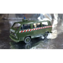 * Herpa Military 000410 VW Bus French Military Police Gendarmerie