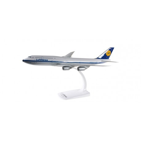 "* Herpa wings Snapfit 610599  Lufthansa Boeing 747-8 Intercontinental ""Retro"""