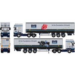 "* Tekno 80464437  Scania R TL curtain canvas semitrailer ""BVB"""