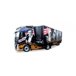 "* Tekno 80468664  Volvo FH GL XL refrigerated semitrailer ""Gesuko / Johnny Cash"""