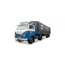 """* Tekno 80465848  Scania Vabis canvas semitrailer """"Vabis"""""""