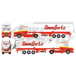 "* Tekno 80467269  Scania Hauber silo semitrailer ""Simon Loos"""