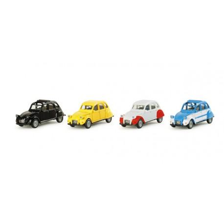 "* Herpa Cars 290982  Set ""60th anniversary"" 2CV"