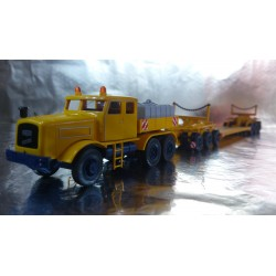 Wiking 8513948 Heavy Hauler And Kaelble Trailer