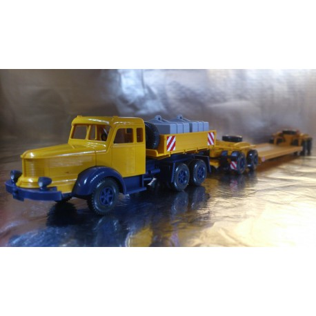 Wiking 8514048 Krupp Trailer and Heavy Hauler Tractor Unit