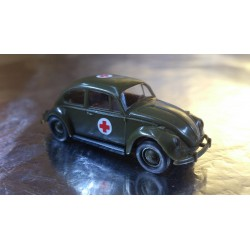 Brekina 25021 VW Beetle Military Ambulance