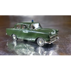 Brekina 20006 Police Vehicle Dark Green Opel Rekord PI