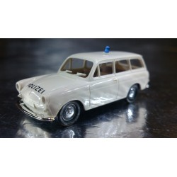 Brekina 26510 VW Combi / Estate 1500 Police Vehicle White