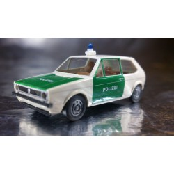 Brekina 25506 VW Golf Police Vehicle White/Green