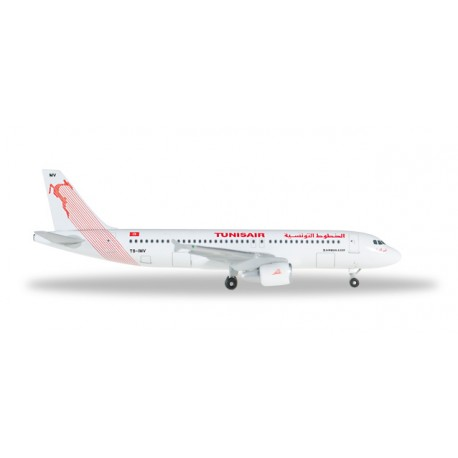 * Herpa Wings 527828  Tunisair Airbus A320