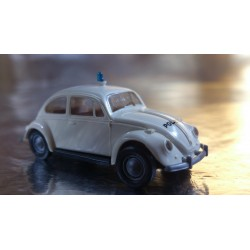 Brekina 25202 VW Beetle White Police / Polizei Vehicle