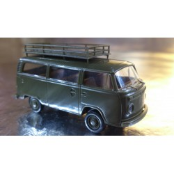 Brekina 33171 VW T2 Military Bus with large Roof Rack