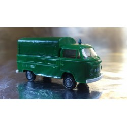 Brekina 33901 VW T2 Polizei (Police) Truck + Removable Canopy
