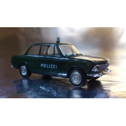 Brekina 33080 BMW 1602 Polizei (Police) 2 door Vehicle