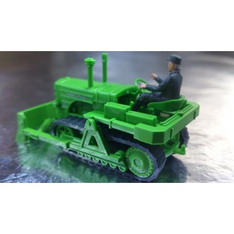 Wiking 8443929 Hanomag Caterpillar Tractor K55 + Figure