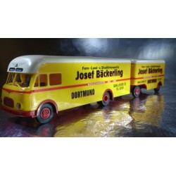 Brekina 57510 Josef Backerling Lorry and Trailer