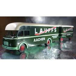Brekina 57610 Lauffs AACHEN Lorry and Trailer
