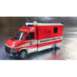 "* Herpa Cars 045292  VW LT 2 Strobel RTW ""Prignitz Rescue Services """