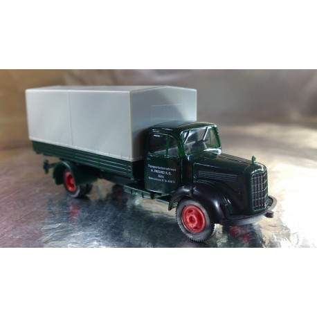 "* Herpa Trucks 155533  Mercedes-Benz 311 L canvas truck ""Freund"""
