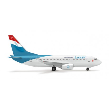 * Herpa Wings 505161  Luxair Boeing 737-700