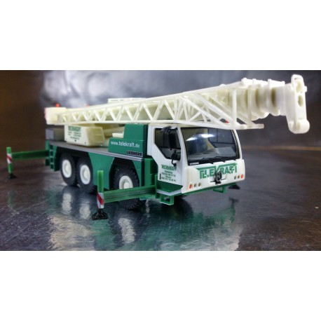 "* Herpa Construction 916196  Liebherr mobile crane LTM 1045/1 ""Telekraft"""