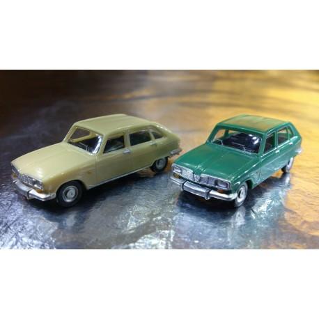 * Herpa Cars (Magic) Herpa 451628 Renault R16 2 cars in pack