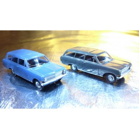 * Herpa Cars (Magic) 451574  Opel Rekord Caravan 2 cars in pack