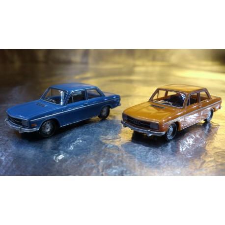 * Herpa Cars (Magic) 452090  Audi 60 Limousine 2 cars in pack