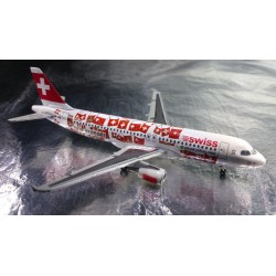 "* Herpa Wings 562027  SWISS International Airlines Airbus A320 ""EM 2008"""