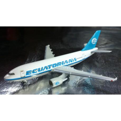 * Herpa Wings 501088  Ecuatoriana Airbus A310-300