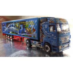 """* Herpa Trucks 155212  Mercedes-Benz Actros LH walking floor semitrailer """"Schreglmann Anniversary"""""""