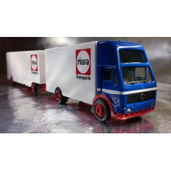 "* Herpa Trucks 152822  Mercedes-Benz NG moving van trailer ""Riwatrans"""