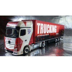 "* Herpa Trucks 306003  Mercedes-Benz Actros Gigaspace box semitrailer ""Brian Yeardley"" (GB)"