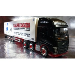 "Herpa Trucks 305778  Volvo FH GL XL refrigerated box semitrailer ""Ralph Davies"" (GB)"