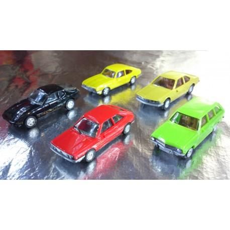 "* Herpa Cars 289511  Passenger cars set ""30 anniversary of Herpa models"""