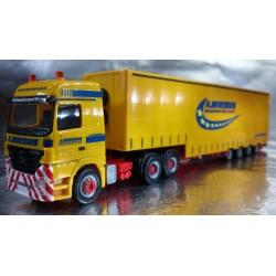 """* Herpa Trucks 155762  Mercedes-Benz Actros LH volume semitrailer """"A. Wirzius"""""""
