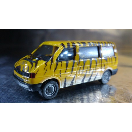 """* Herpa Cars 048170  VW T4 Bus """"Circus Journal"""""""