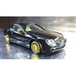 * Herpa Cars 20023 3 Advent Mercedes Benz SL Class With Display Box