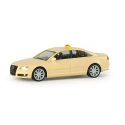 "* Herpa Cars 048156  Audi A8 ® ""Taxi"""