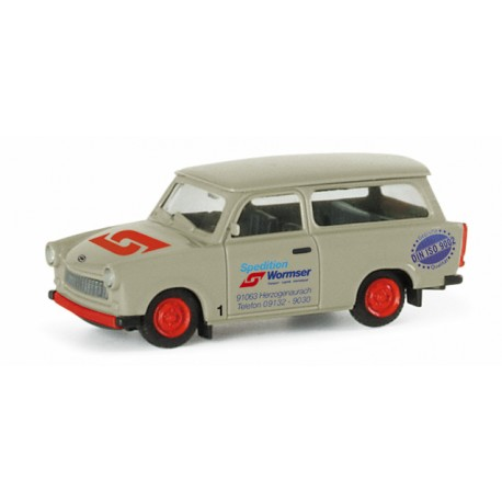 """* Herpa Cars 047555  Trabant 601 S Universal """"Wormser shipping company"""""""