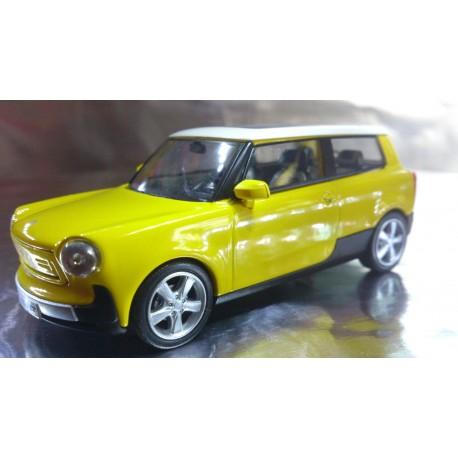 * Herpa Cars 070638  Trabant nT, colza yellow, PC Display Box