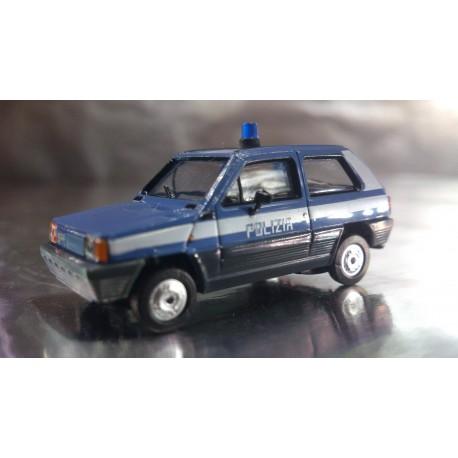 """* Herpa Cars 090872  Fiat Panda """"Polizia"""" Italy"""