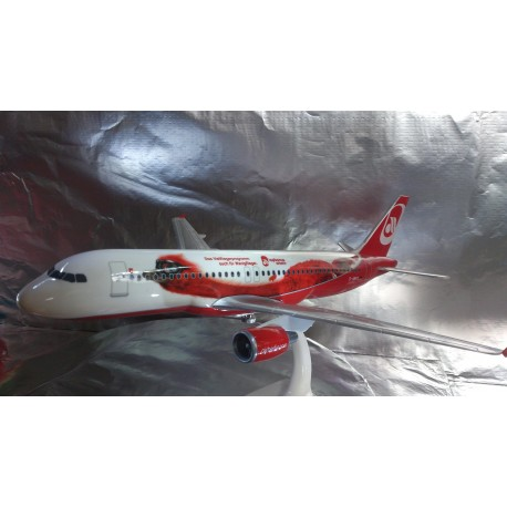 "* Herpa Wings Snapfit 610667  Air Berlin Airbus A320 ""Top Bonus"""