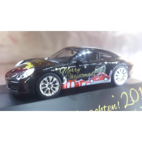 """* Herpa Cars 101998  Porsche 911 Carrera 4S """"Herpa Weihnachts-PKW 2016"""""""