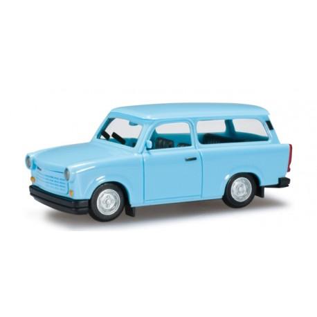 * Herpa Cars 027359-002  Trabant 1.1 Universal, pastel blue