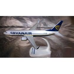 * Herpa Snap Fit 609395  Ryanair Boeing 737-800