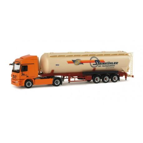 """* Herpa Trucks 155373  Mercedes-Benz Actros L silo semitrailer """"Steinkühler"""""""