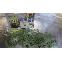 * Herpa Military 745840  Herpa Military: Accessories wheelbarrows, sack barrows, barrels (contains 144 parts)