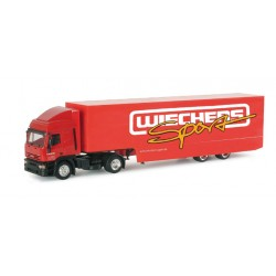 "* Herpa Trucks 038119  Iveco ET HD racing transporter semitrailer ""Wiechers"""