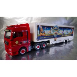 "* Herpa Trucks 306744  MAN TGX XLX box semitrailer ""Circus Roncalli"""